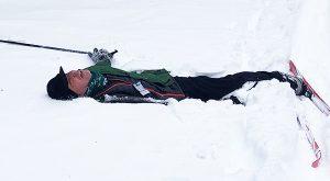 Bill in the snow